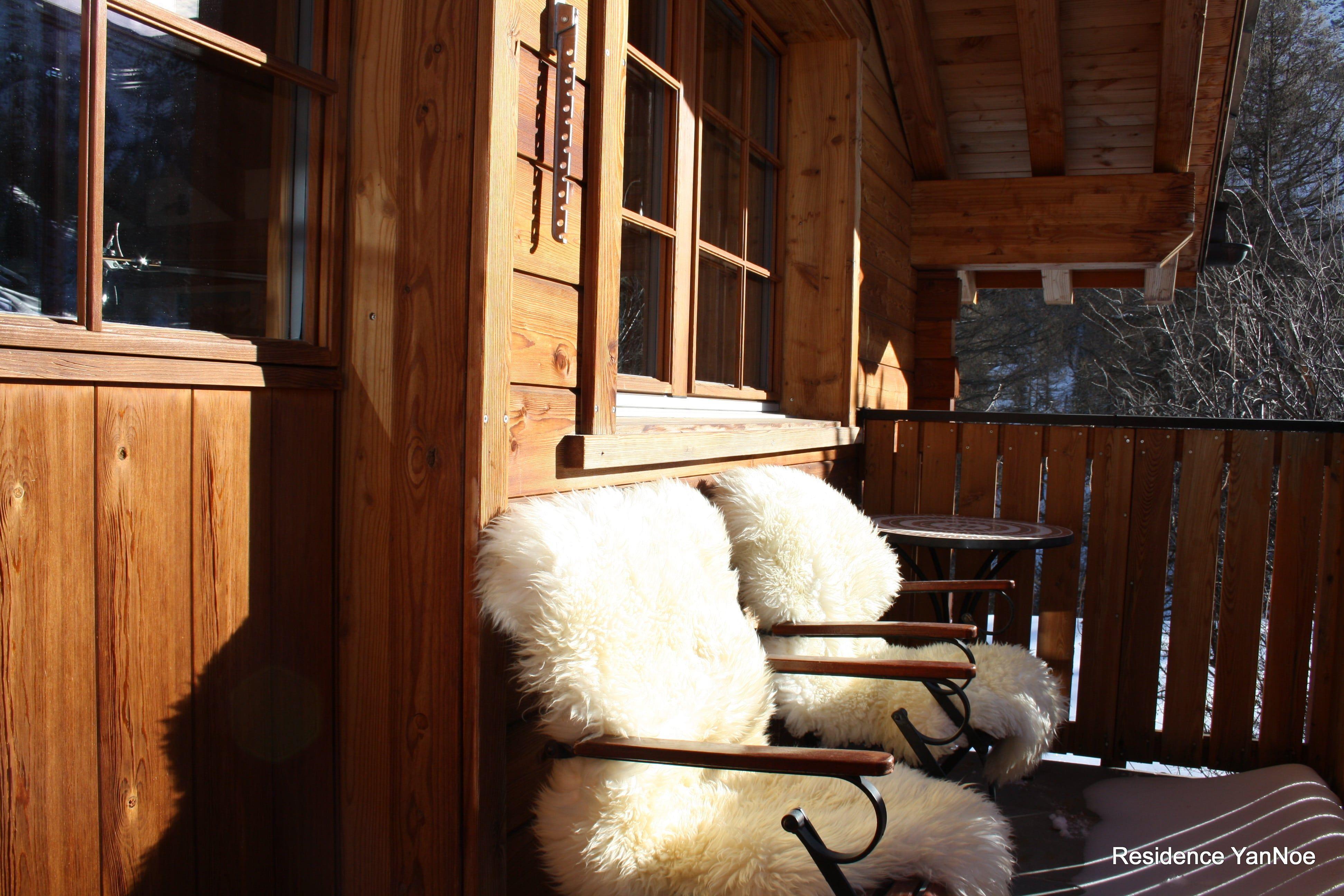 Chalet Hinter dem Rot Stei Balkon | Residence YanNoe